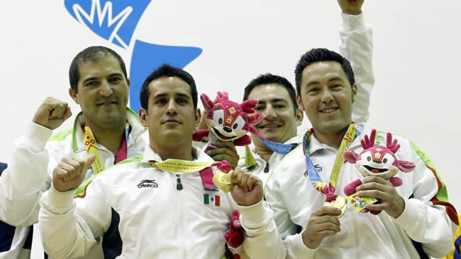 hombres equipo oro racquetbol panamericanos