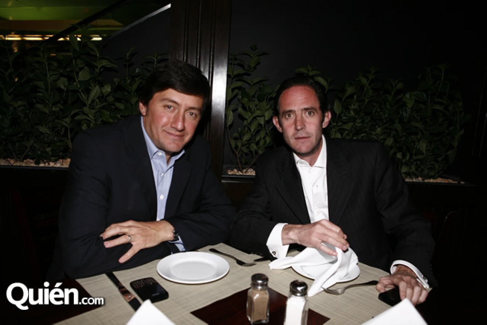 Patricio Barroso y Ángel Matute