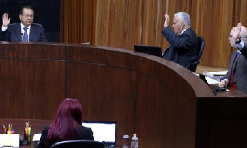 El tribunal ordenó al INE que vuelva a transmitir el spot den dirigente nacional de Morena. (Foto: Cortesía/ TEPJF)