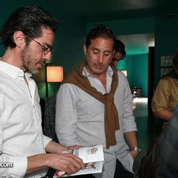 Guillermo Martínez y Moisés Micha