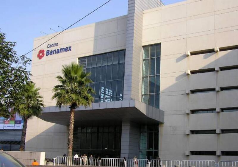 Fachada del Centro Banamex