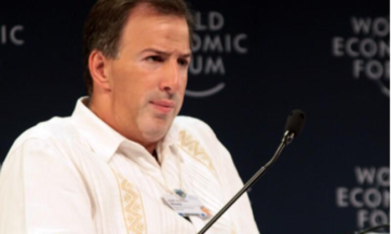 José Antonio Meade, secretario de Hacienda, dijo que el G20 hizo un compromiso contra el proteccionismo. (Foto: De WEF)