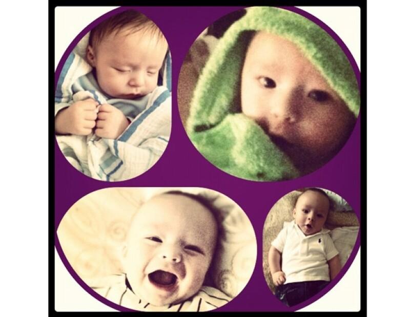 Mateo cumplió cuatro meses de haber nacido.