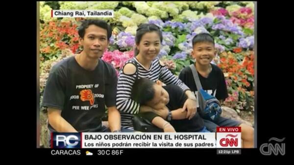 Historias felices y tristes en rescate de niños en Tailandia