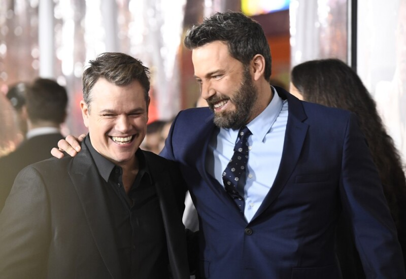 Matt Damon y Ben Affleck nueva película