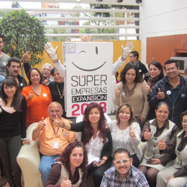ISA Corporativo realizó un convivio con sus trabajadores. En todo momento se mostraron orgullosos de ser considerada una Súper Empresa 2013.