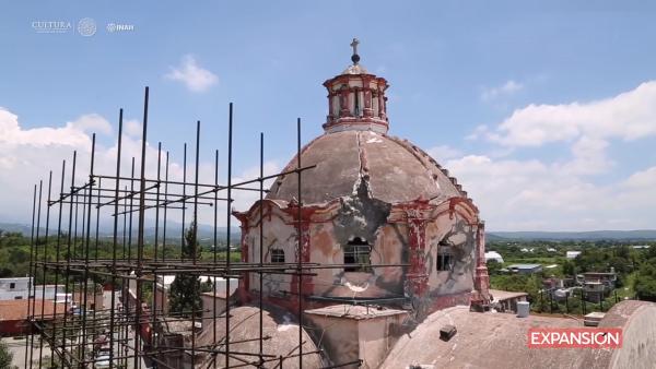 Universidad de Italia elabora proyecto reconstrucción dos exconventos de Morelos
