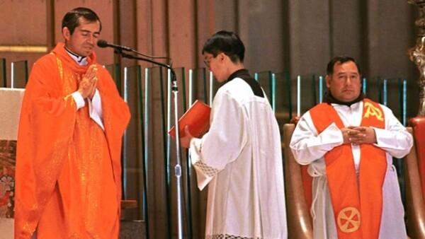 misa de legionarios de cristo