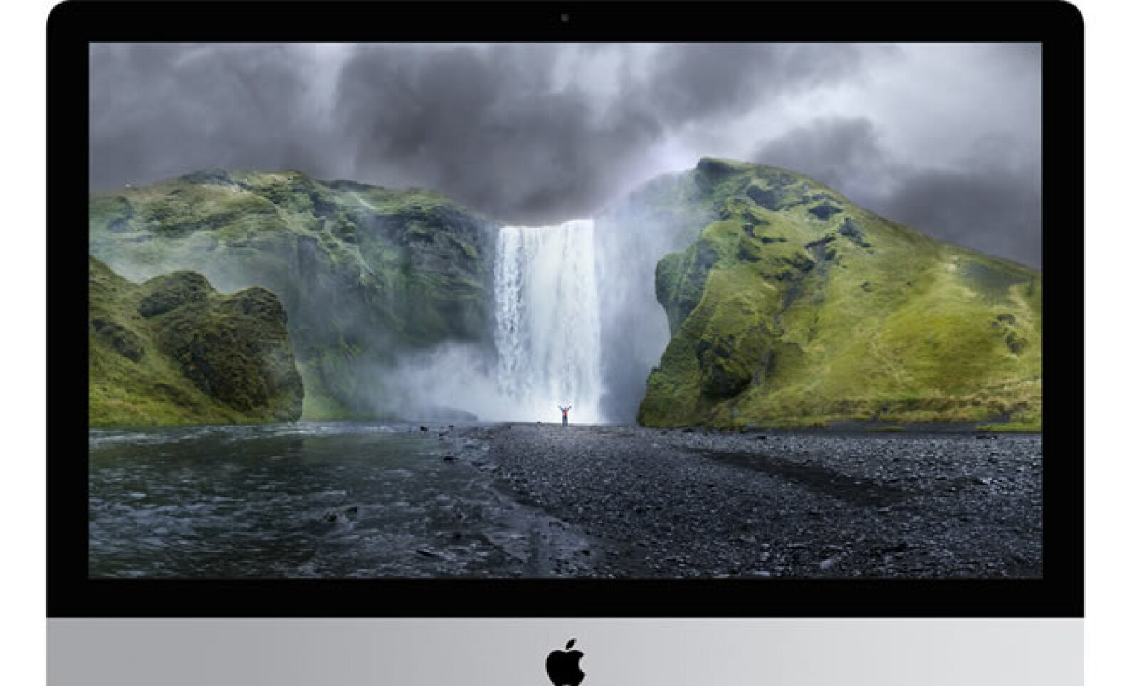 La nueva iMac con pantalla retina 5k ofrece una resolución de 14.7 millones de pixeles.