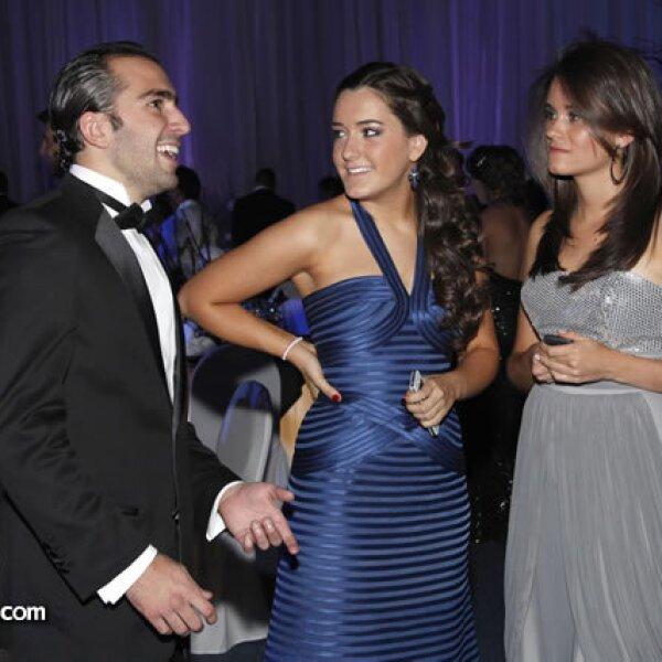 Diego Sobrino,Lorea Riestra y Maya March