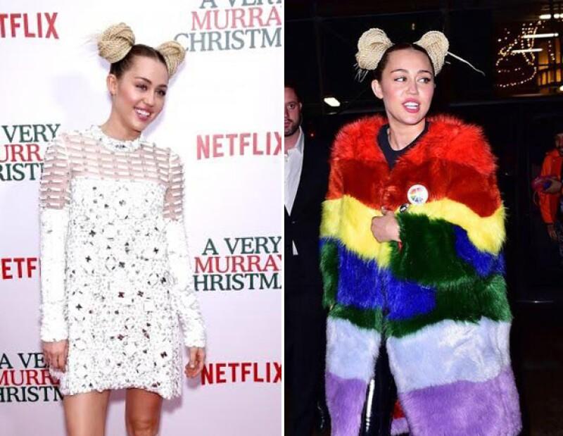 La actriz de Club de Cuervos se anima a criticar. Además una vez más Miley Cyrus es coronada como la peor vestida de la semana y ésta vez por dos eventos diferentes.
