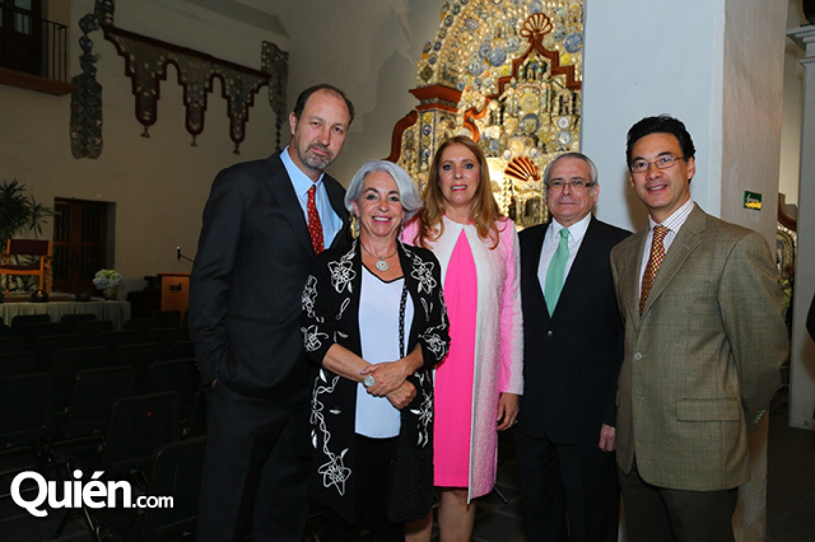 Rodrigo Murray, Tessy Massieu, Margie Ortiz, Ricardo Ramírez y Adolfo Alaniz