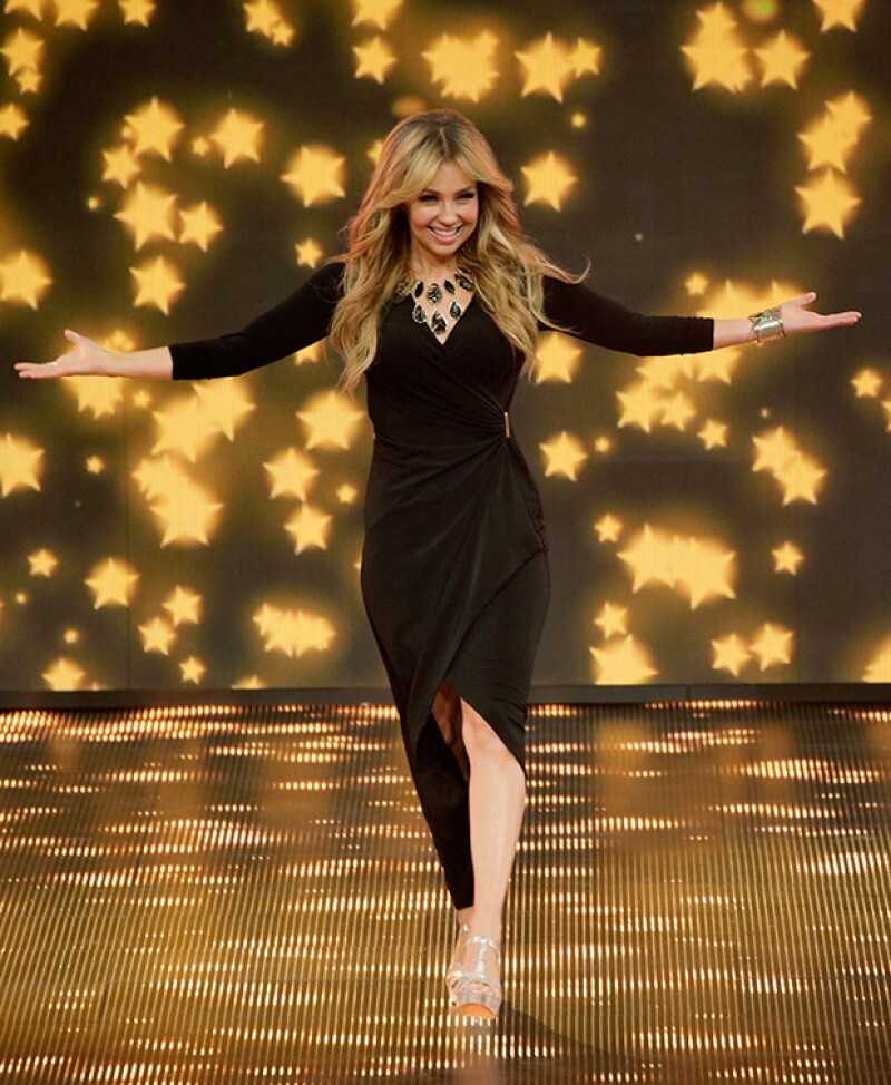 La cantante y actriz confesó en una reciente aparición en un programa que pronto podría regresar a la pantalla chica.
