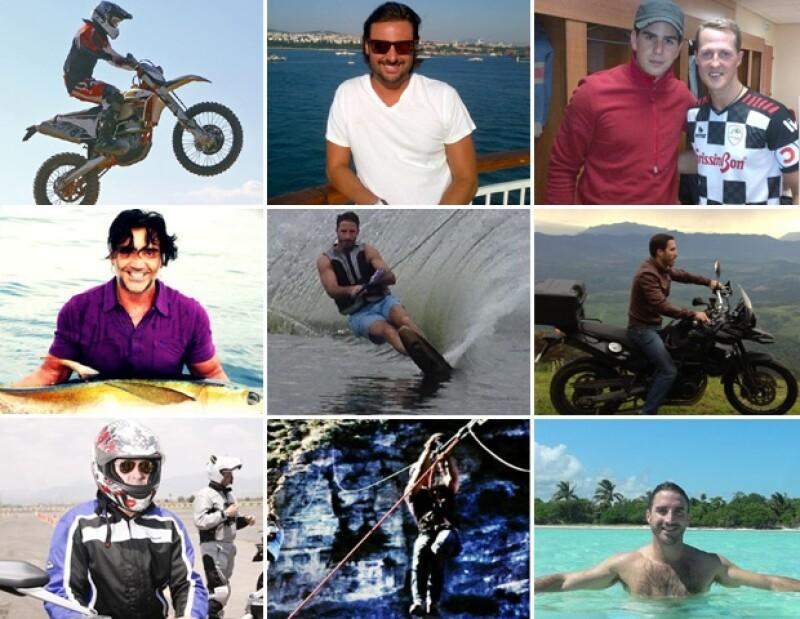 Alex Valladares, Leo García, Toño de la Vega, Alberto Ruiz de Teresa y Alex Fernández viven al máximo, son amantes de la adrenalina y los deportes extremos.