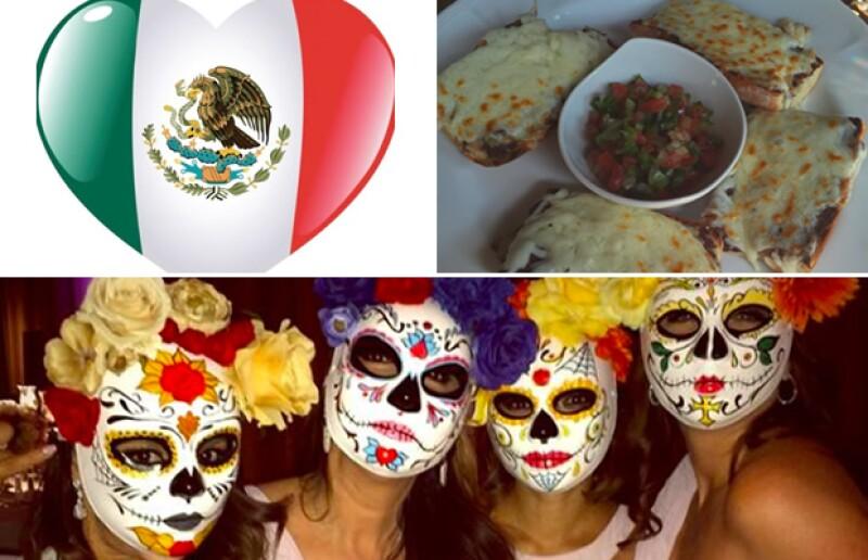 ¡Que viva México! Eva no deja de hacer evidente su amor por nuestro país.