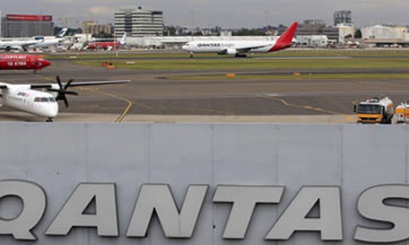 El Gobierno australiano pidió una orden judicial a fin de ordenar que los aviones regresen a los aires. (Foto: AP)