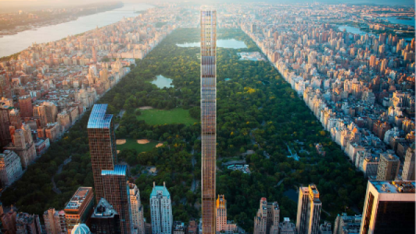 Rascacielos delgados