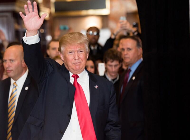 En el manifiesto expresaron su rechazo ante el discurso racista de Trump.
