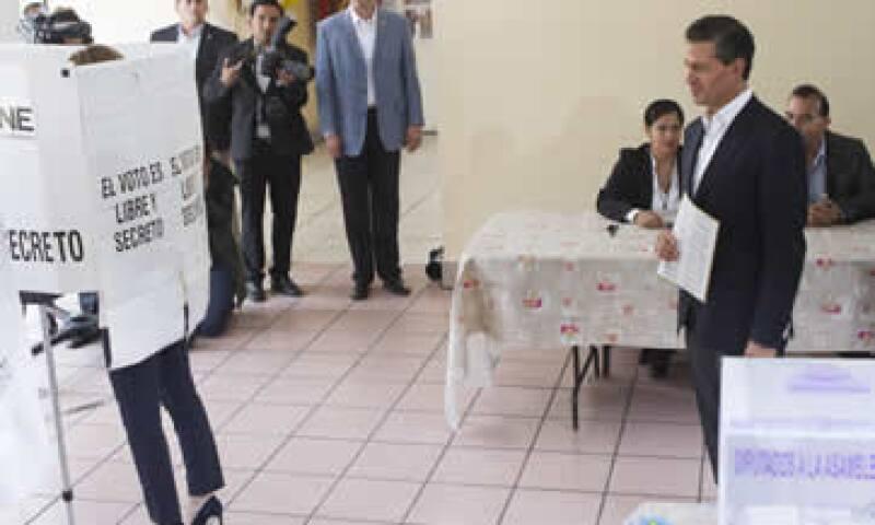 El PRI y sus aliados Partido Verde y Nueva Alianza se perfilan a tener la mayoría simple de la Cámara de Diputados. (Foto: Cuartoscuro )