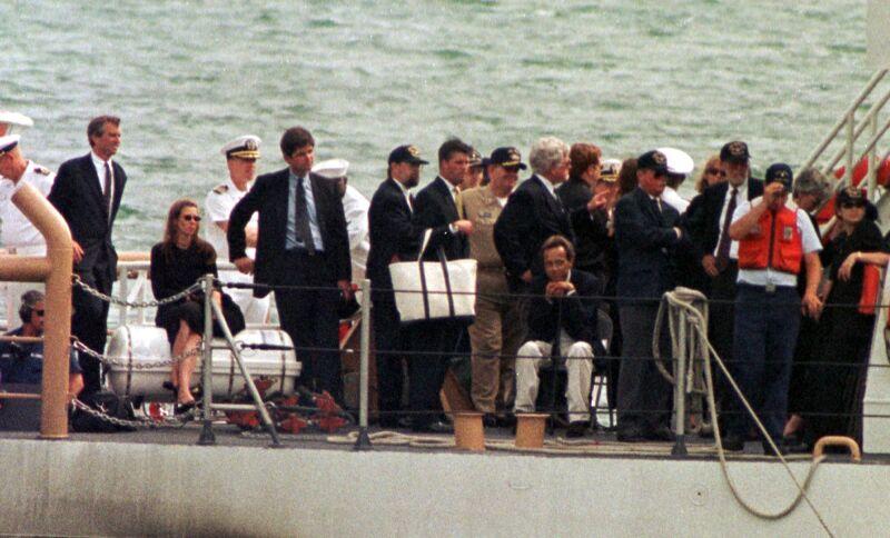 Muerte de John F Kennedy Jr