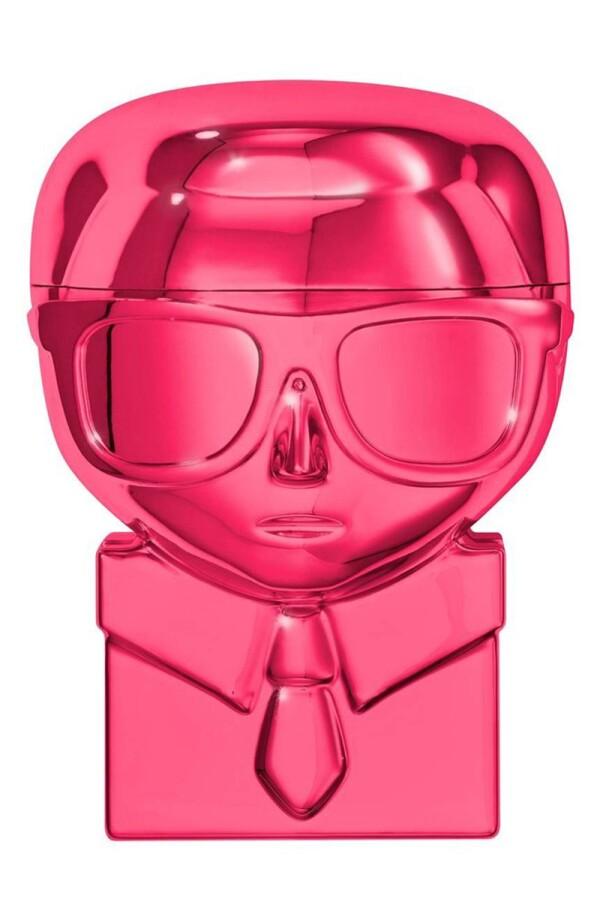 Karl Lagerfeld - maquillaje