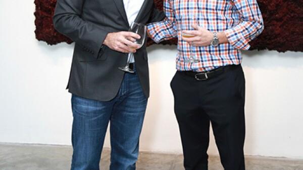 Rafael Saldaña y Alberto Villarreal