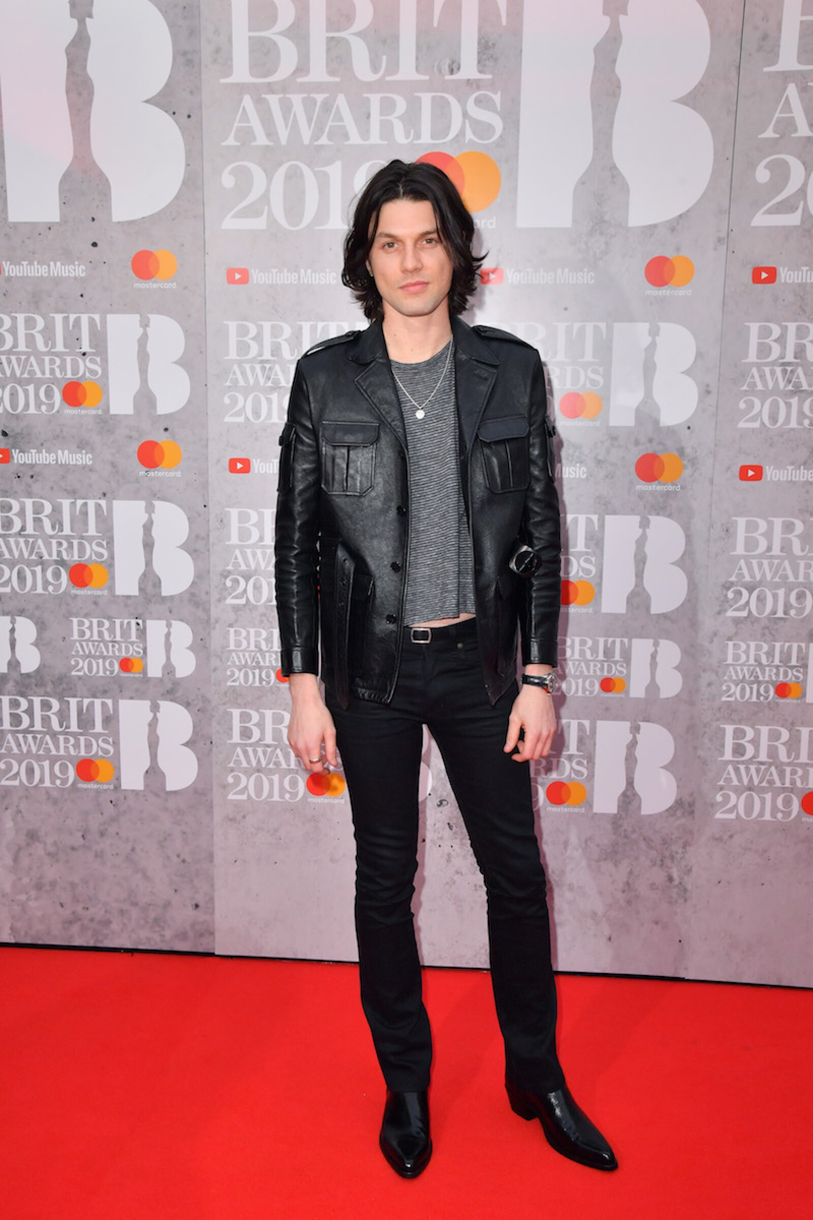 39th Brit Awards, Arrivals, The O2 Arena, London, UK - 20 Feb 2019