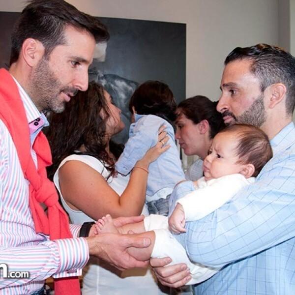 Allan Fis, Franco y Santiago Parra