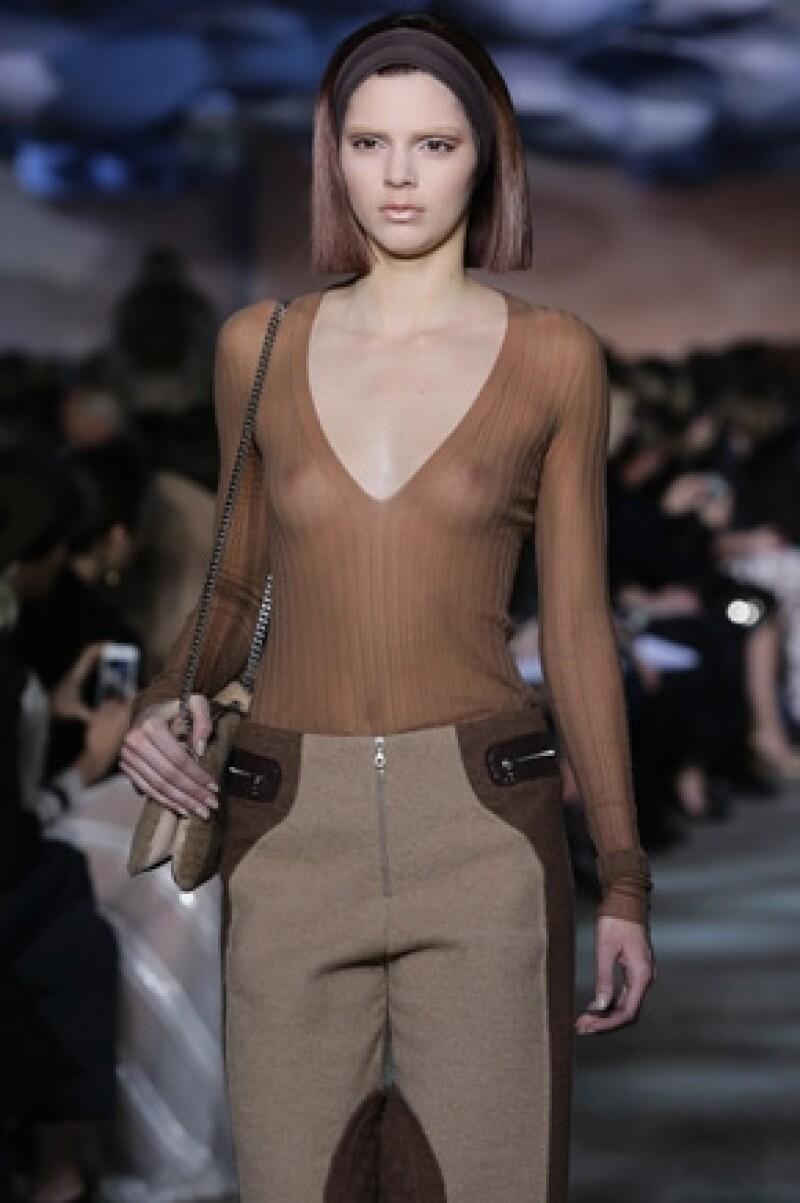 La joven de 18 años forma parte de la agencia Wilhelmina.