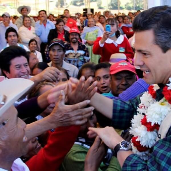 Enrique Peña Nieto indígenas Edomex
