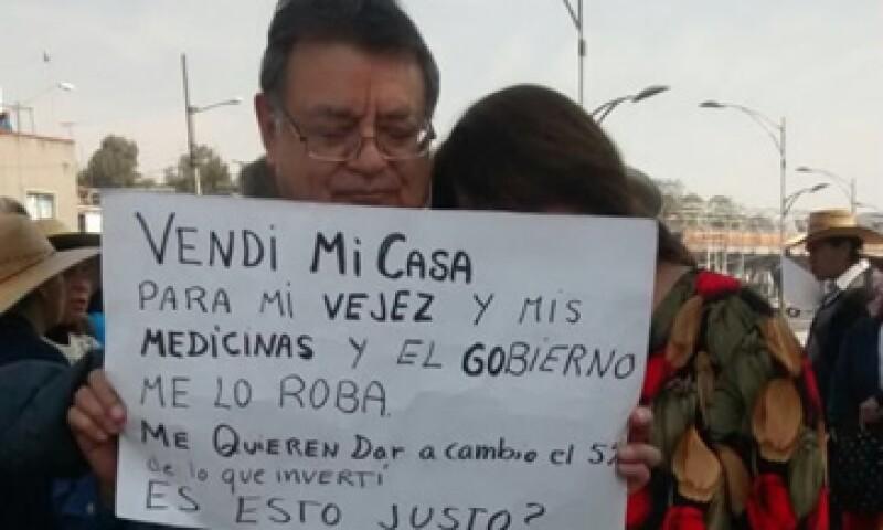 Gran parte de los ahorradores defraudados de Ficrea eran personas de la tercera edad. (Foto: Samantha Álvarez)