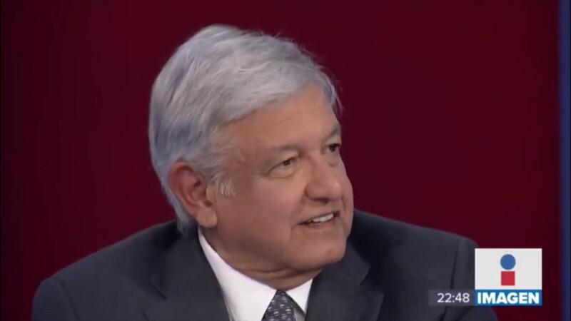 López Obrador en Imagen