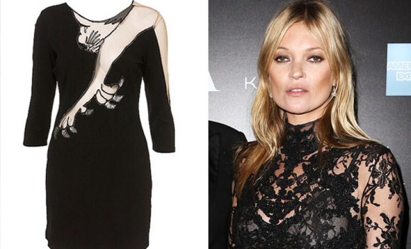 Kate Moss diseñó esta prenda la cual tuvo un éxito tan rotundo que se agotó en cuestión de minutos.