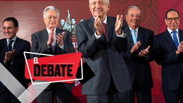 ¿Se está separando el poder económico del poder político, como asegura AMLO?