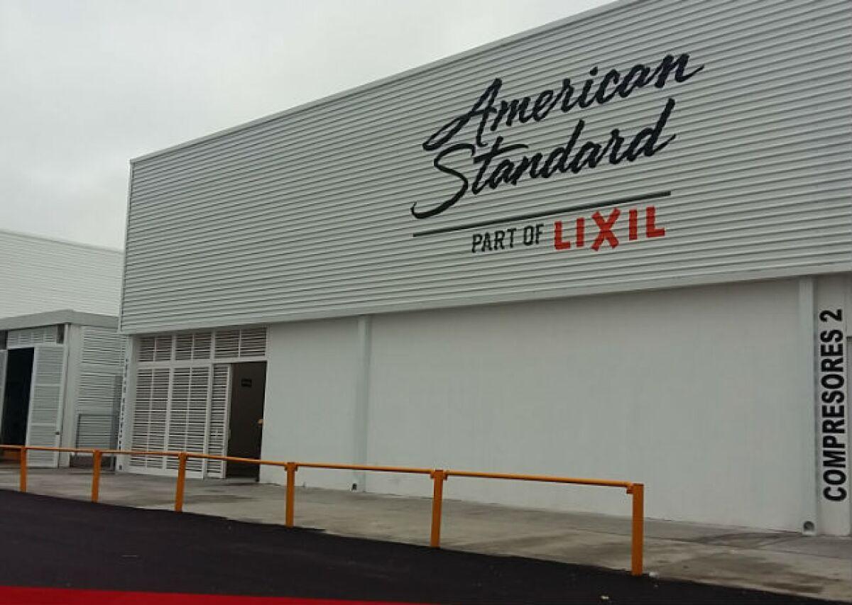 American Standard Expandi 243 Su Planta De Aguascalientes