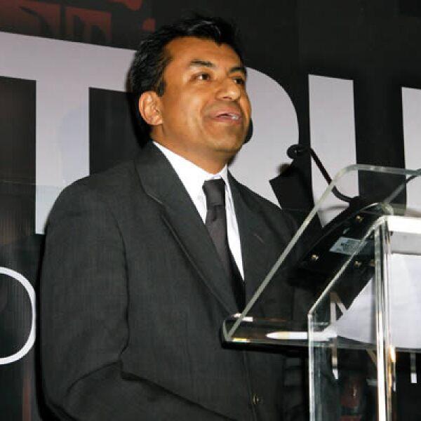 José Manuel Martínez, editor en jefe del portal CNNExpansión.com