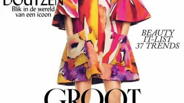 Para la portada de Vogue Holanda, Doutzen Kroes posó para 3 fotógrafos: Paul Bellaart, Jan Welters y Nico. ¿La razón? Ésta es sólo 1 de 3 portadas.