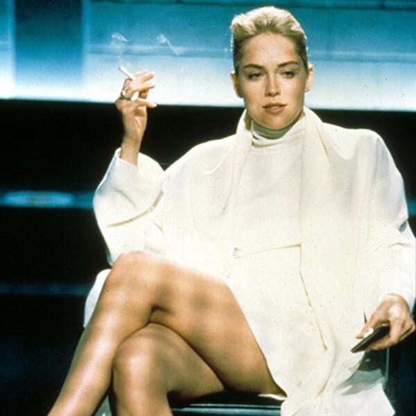 Sharon Stone en su primer éxito