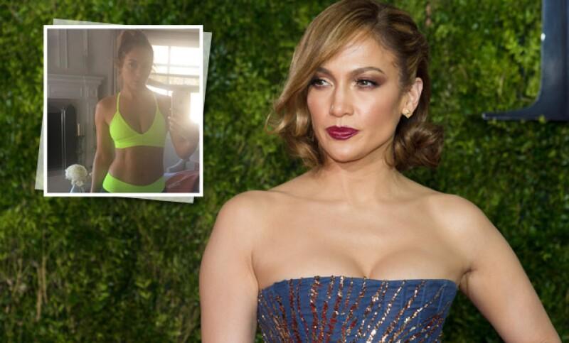 JLo presume su cuerpo y lo hace sin una gota de maquillaje, además Gigi Hadid casi irreconosible y Thalía al mejor estilo María la del Barrio.