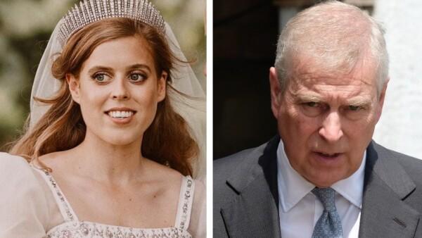 Princesa Beatriz y el príncipe Andrés