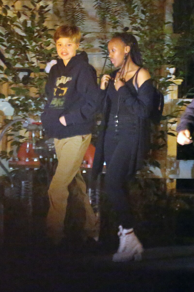 Shiloh y Zahara Jolie-Pitt