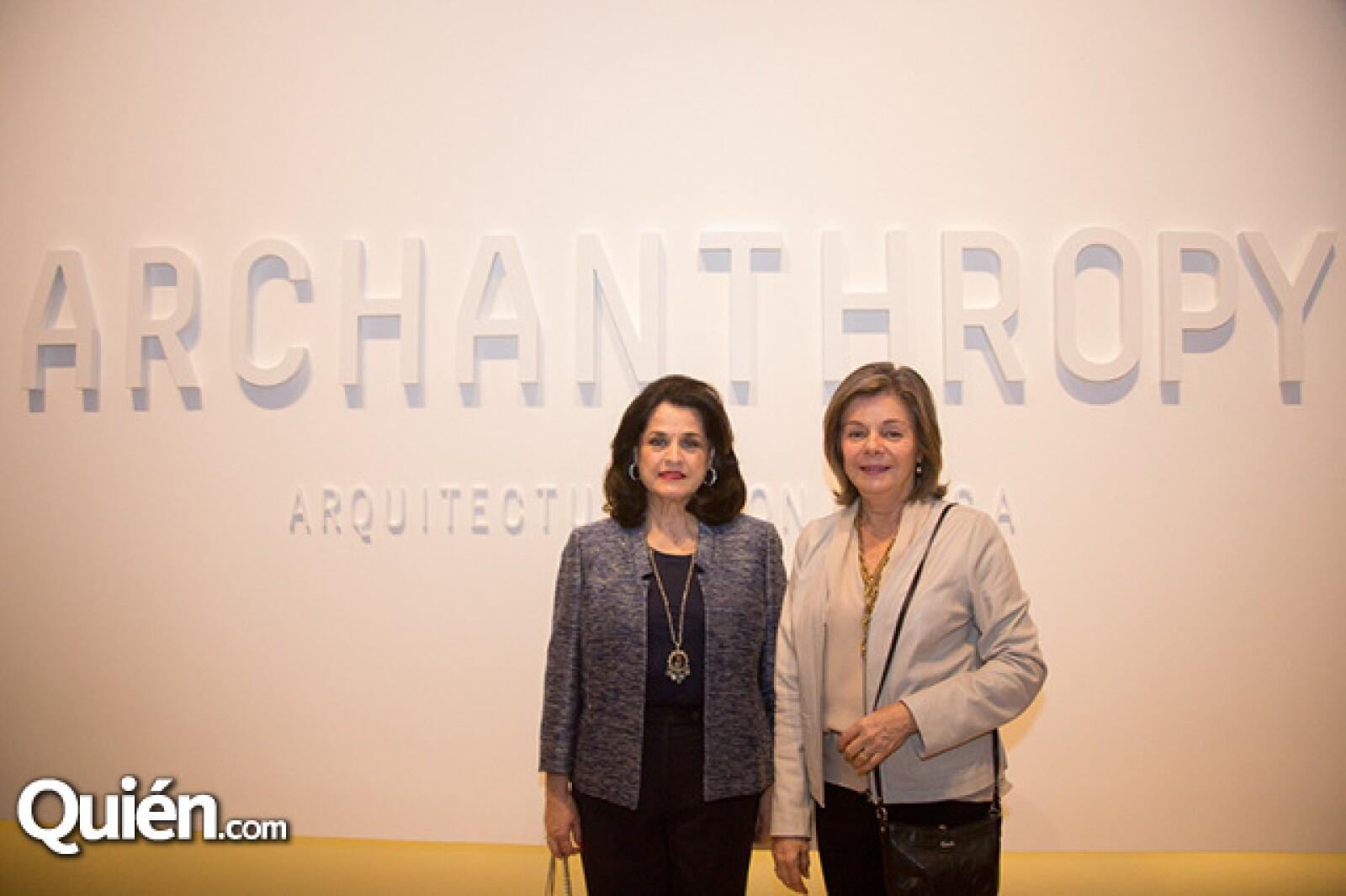 Alicia Boesch de Santos y Alicia Navarro de Martinez