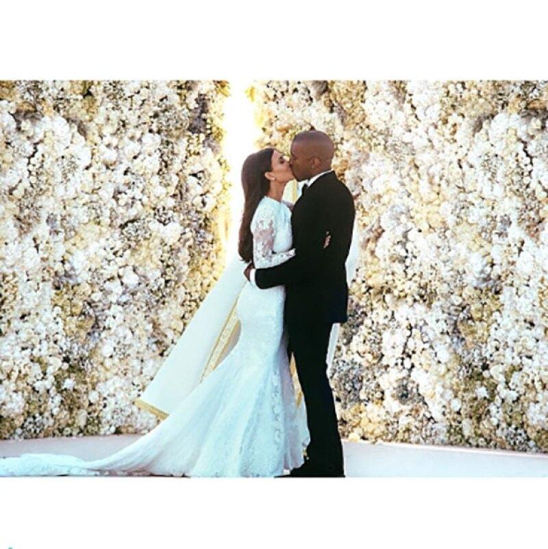 La foto publicada por Kim Kardashian