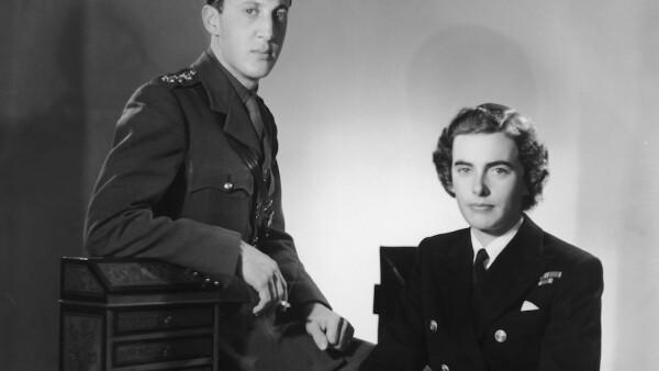 Lord y Lady Mountbatten