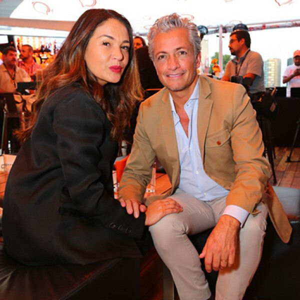 Yolanda Andrade y Arturo Velasco