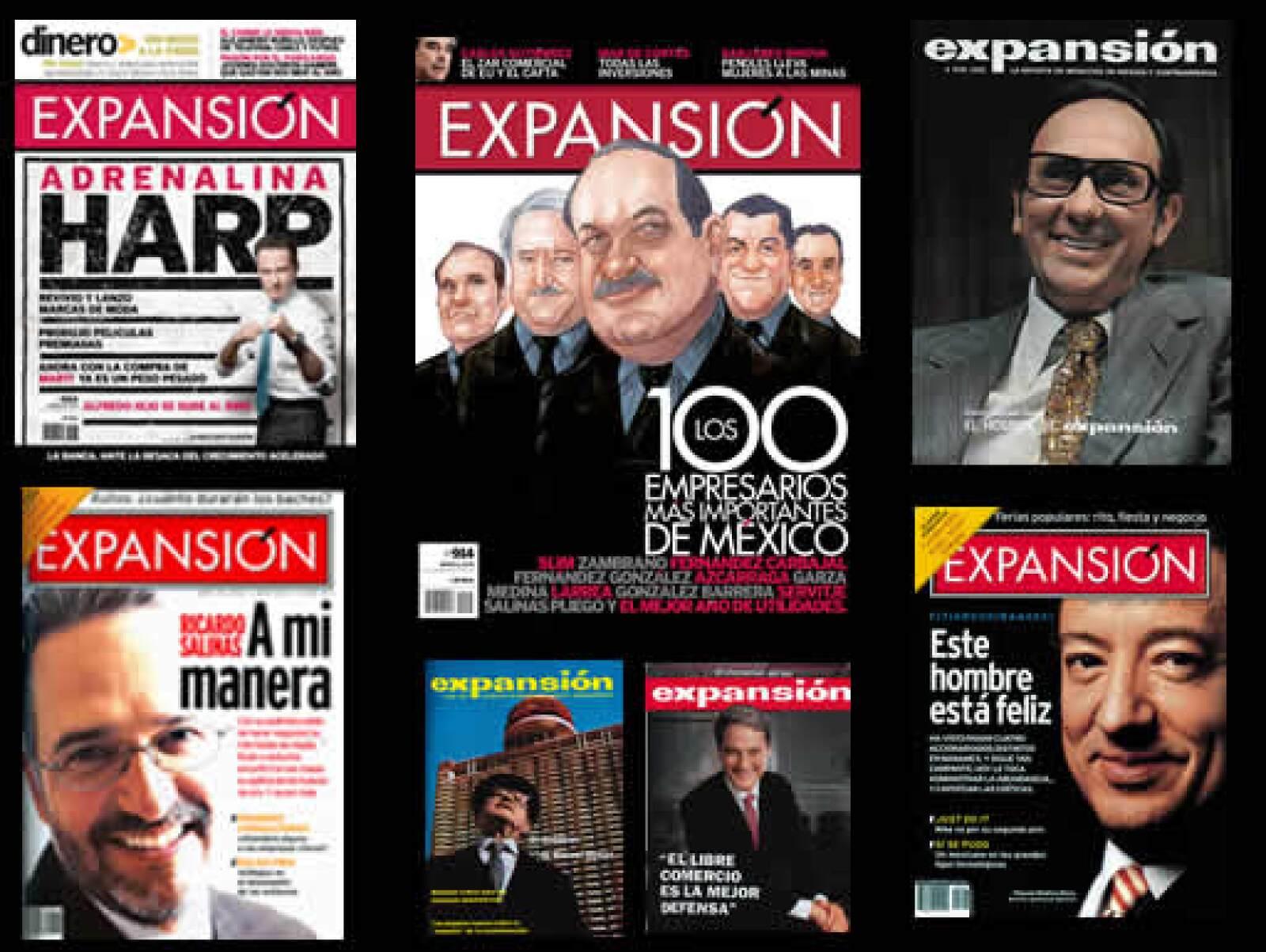 Desde funcionarios públicos hasta integrantes del Grupo Monterrey, las acciones de los empresarios y ejecutivos que cambiaron los negocios en México han sido documentadas en las páginas de Expansión.
