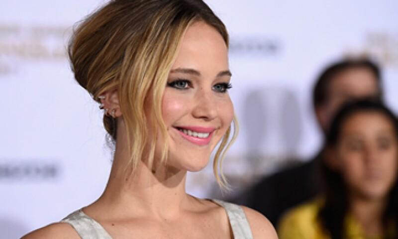 El primer salario de Jennifer Lawrence por una película fue de 3,000 dólares. (Foto: AFP )