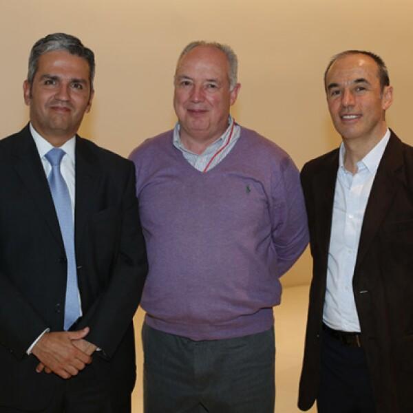 Rodolfo Campuzano,Wenseslao Quintero y Carlos de la Peza