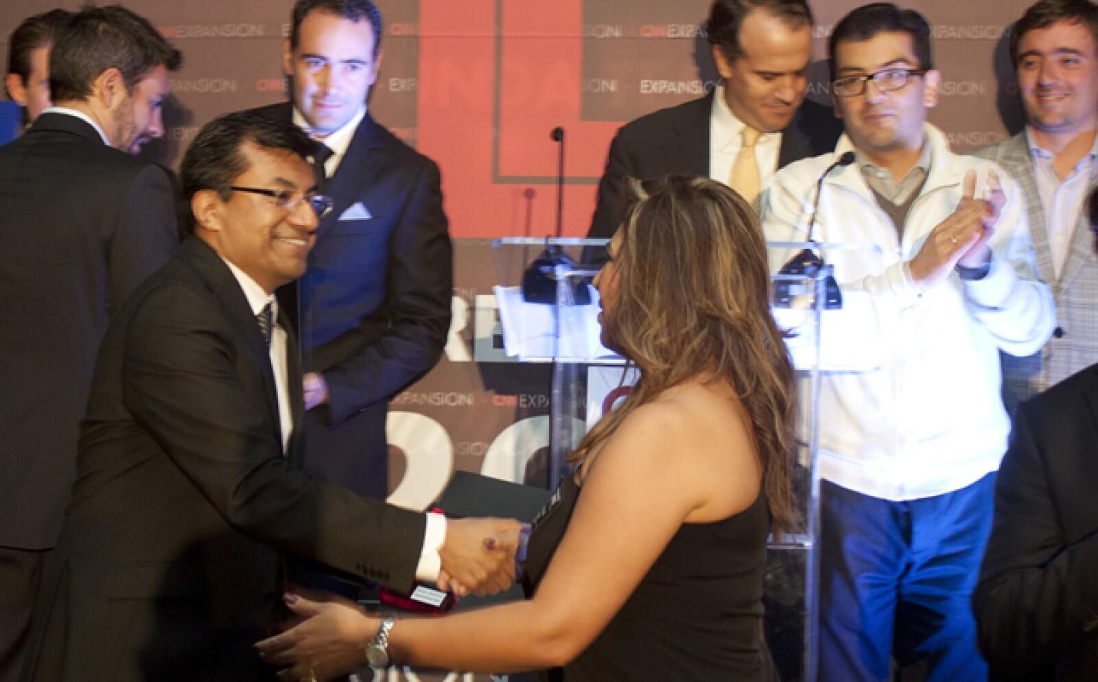 Bajo la marca de Jaztea, Edna Fong, se consagró como la ganadora de Emprendedores 2012 en la categoría Alto Crecimiento.