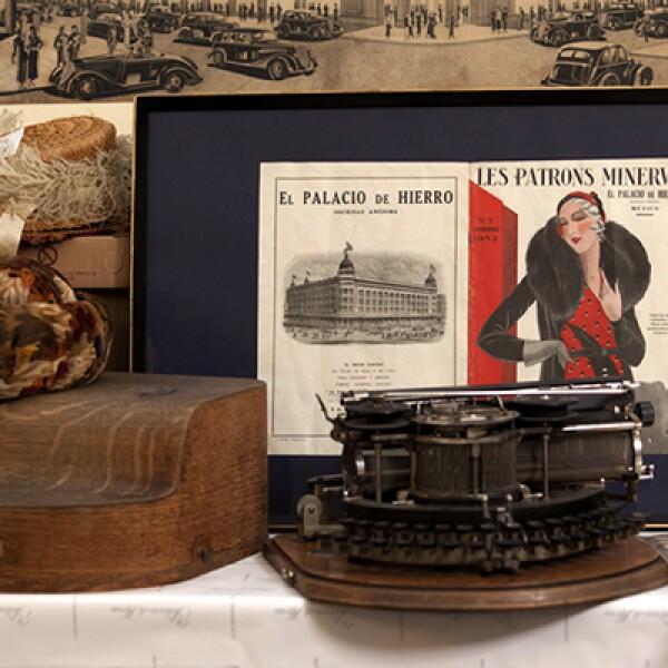 El Palacio de Hierro conserva objetos de principios del siglo XX, que planea mostrar al público en una exposición para conmemorar el 125 aniversario de la tienda departamental.